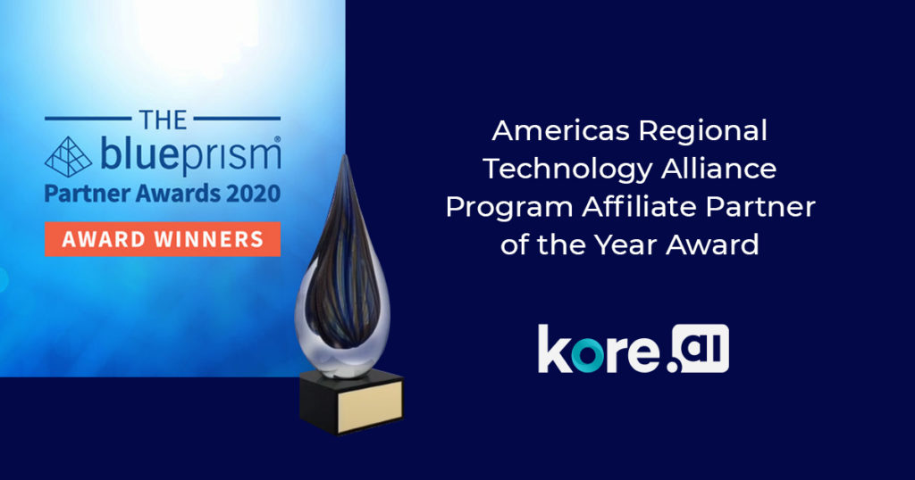 Received Blue Prism's Americas Regional Technology Alliance Program Affiliate Partner of the Year Award